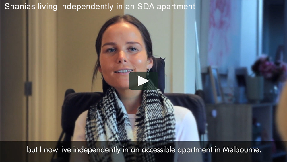 Shania Living Independently